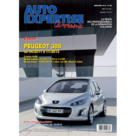 308 04/11-11/13 - Revue Auto Expertise PEUGEOT
