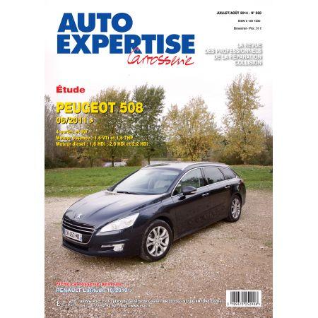 508 06/11- - Revue Auto Expertise PEUGEOT