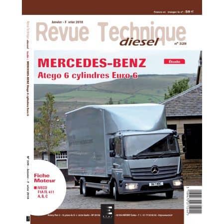 Atego 6 cl Euro 6 Revue Technique MERCEDES