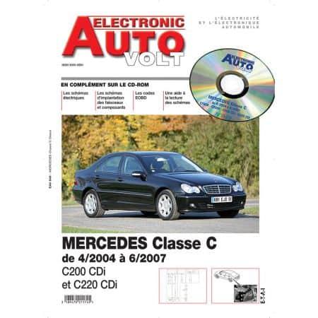 MERCEDES CLASSE C 200CDI ET 220 CDI Revue Technique Electronic Auto Volt Mercedes