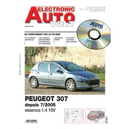 307II+CC 05- ESS 1.4 16V Revue Technique Electronic Auto Volt PEUGEOT