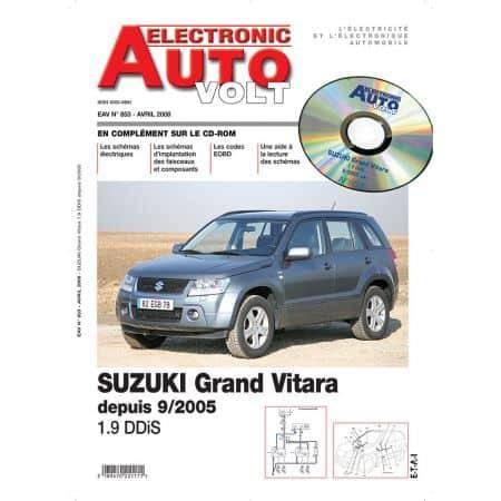 GRAND VITARA 09/05- DIES 1.9 DDIS Revue Technique Electronic Auto Volt SUZUKI
