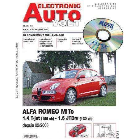 MI.TO 09/2008- ESS 1.4 + 1.6 JTD Revue Technique Electronic Auto Volt ALFA ROMEO