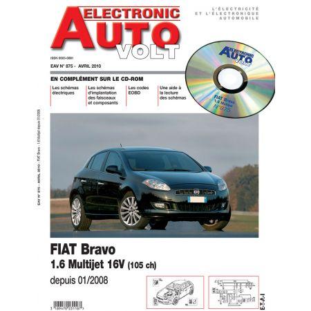 BRAVO 01/2008- 1.6 MULTIJET Revue Technique Electronic Auto Volt FIAT