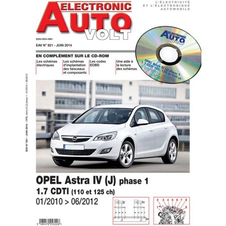 Astra IV Ph 1 10-12 Revue Technique Electronic Auto Volt OPEL
