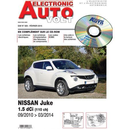 Juke 10-14 Revue Technique Electronic Auto Volt NISSAN