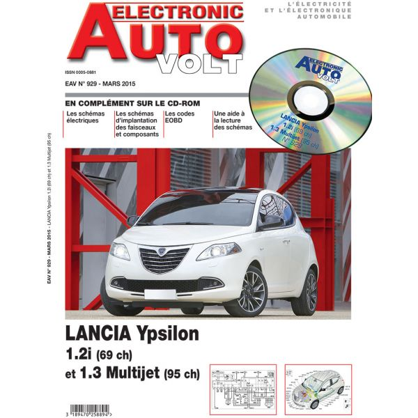 Ypsilon  Revue Technique Electronic Auto Volt LANCIA