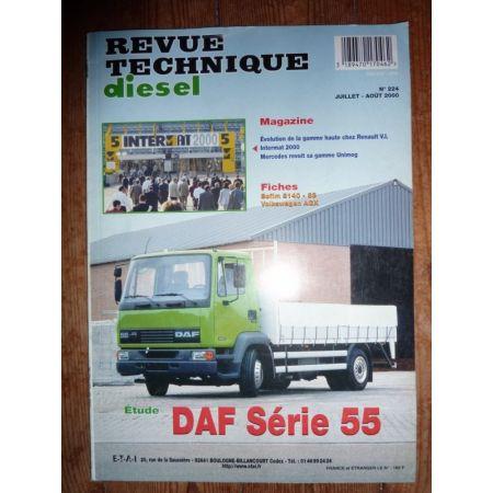 Série 55 Revue Technique PL Daf