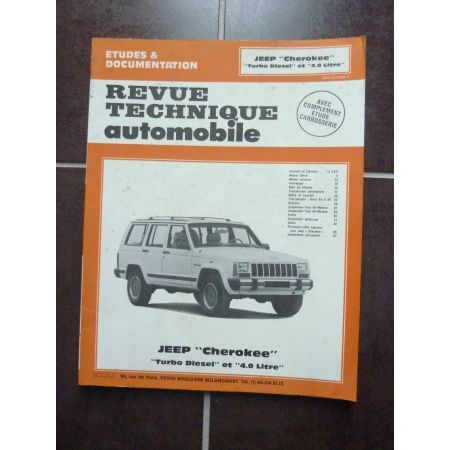 Cherokee 4.0 TD Revue Technique JEEP