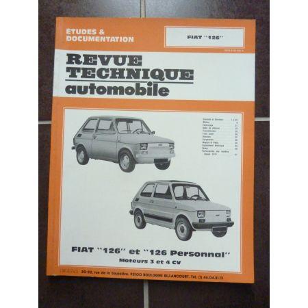 126 Revue technique FIAT