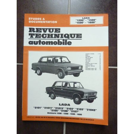 1200-1600 Revue Technique LADA