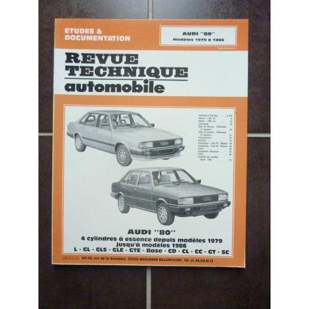 80 79-86 Revue Technique AUDI