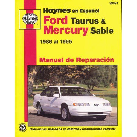 Taurus - Sable 86-95 Revue technique Haynes FORD MERCURY Espagnol