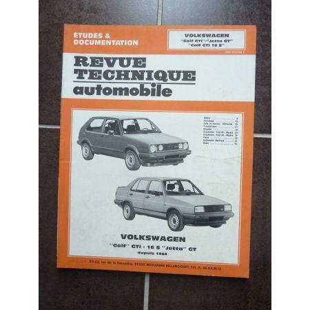 Golf GTI-16S - Jetta GT 84- Revue Technique VW