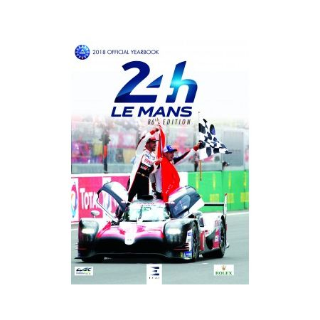 24 H Le Mans, 2018 official year book - Livre Anglais