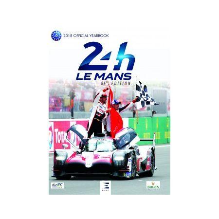 24 H Le Mans, 2018 official year book - Livre Anglais