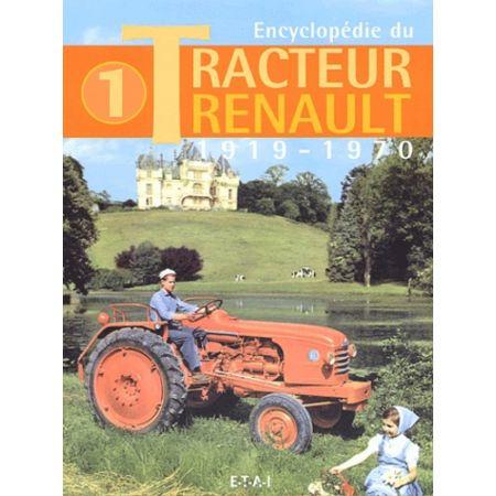 TRACTEUR RENAULT 19-70 - Livre