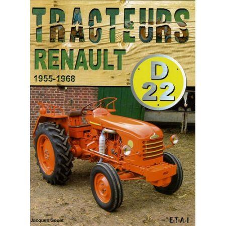 Tracteurs Renault D22 55-68 - Livre