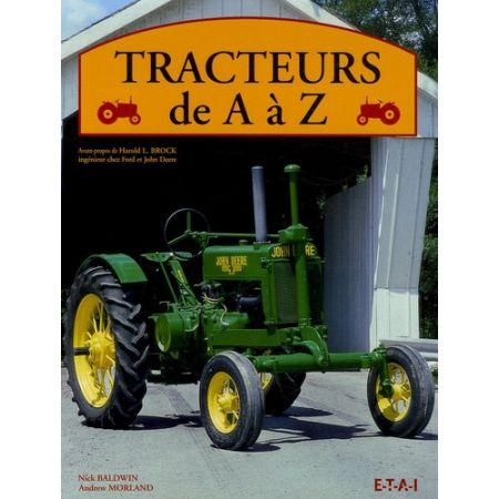 TRACTEURS DE A À Z - Livre