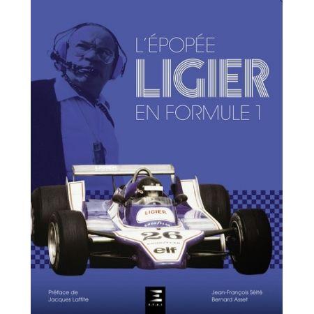 LIGIER en Formule 1 - Livre
