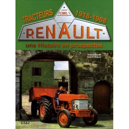 TRACTEURS RENAULT 18-68  - Livre