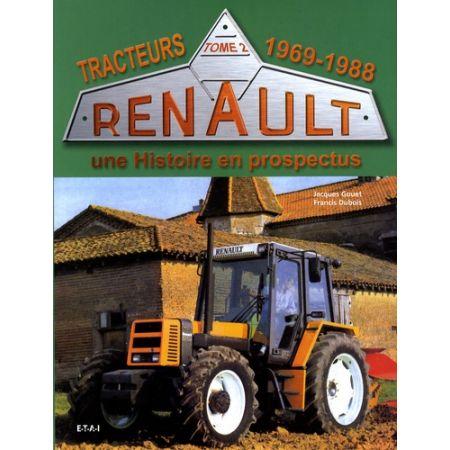 TRACTEURS RENAULT 69-88 - Livre