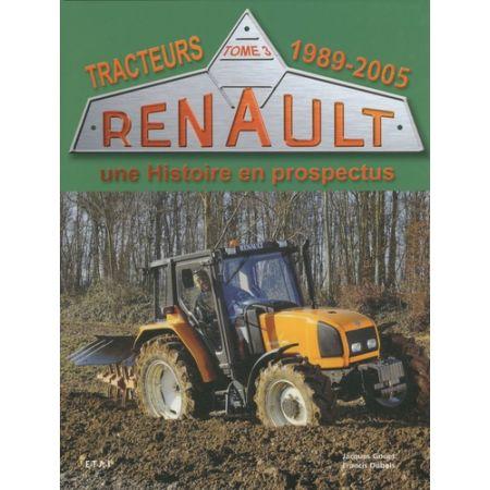 TRACTEURS RENAULT 89-05 - Livre