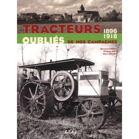 TRACTEURS OUBLIES 96-18 - Livre