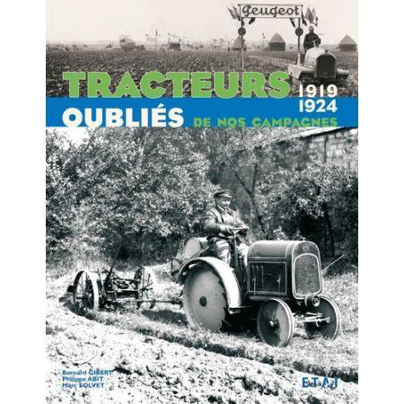 TRACTEURS OUBLIES 19-24  - Livre