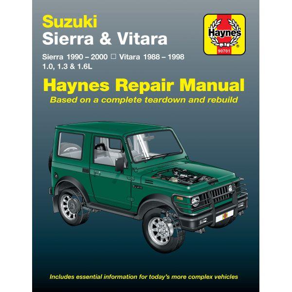Sierra & Vitara 88-00  Revue technique Haynes SUZUKI  Anglais