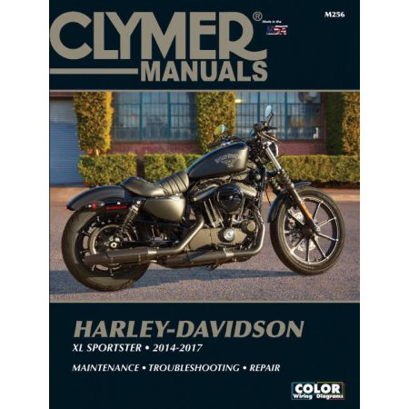 XL Sportster 12-17 Revue technique Clymer Harley-Davidson Anglais