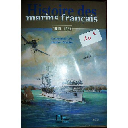 histoire des marins français 45-54 - Livre