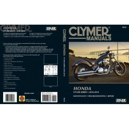 VT1300 10-18 Revue technique Clymer HONDA Anglais