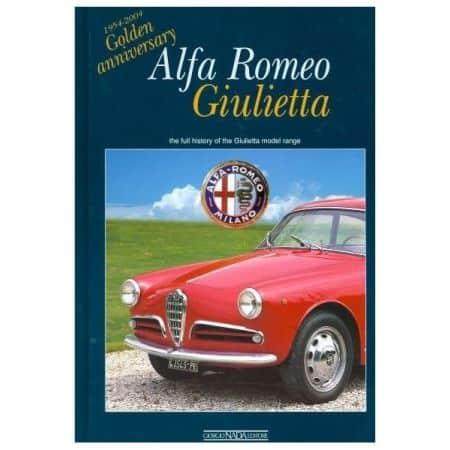 ALFA ROMEO GIULIETTA 54-04 - Livre Anglais