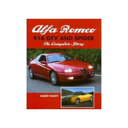 ALFA ROMEO 916 GTV AND SPIDER - Livre Anglais