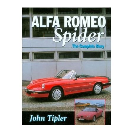 ALFA ROMEO SPIDER - Livre Anglais