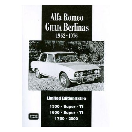 ALFA ROMEO GIULIA 62-76 - Livre Anglais