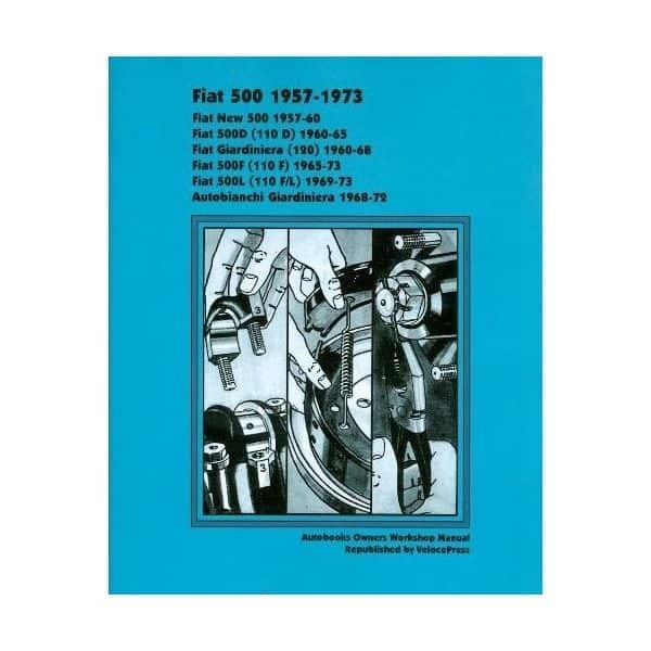 FIAT 500 57-73  -  Livre Anglais