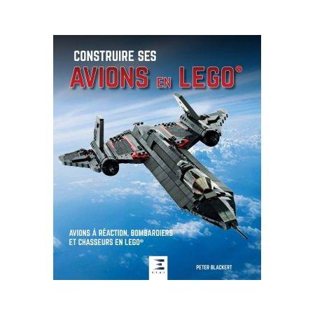 Construire ses avions en Lego - Livre
