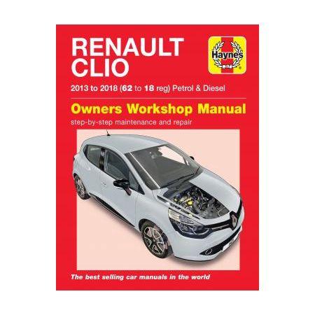 Clio 13 - 18 - Manuel RENAULT Anglais