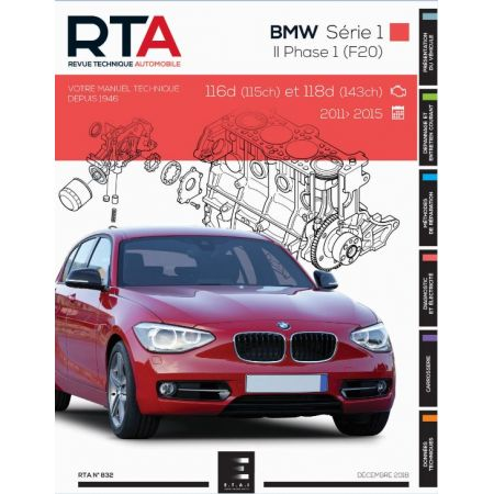 Série 1 II Diesel 11-15 Revue Technique BMW