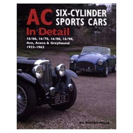 AC SIX- CYL . SPORTS CARS - Livre Anglais