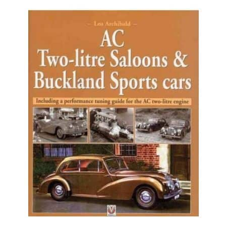 AC TWO-LITRE SALOONS & BUCKLAND SPORTS CARS - Livre Anglais