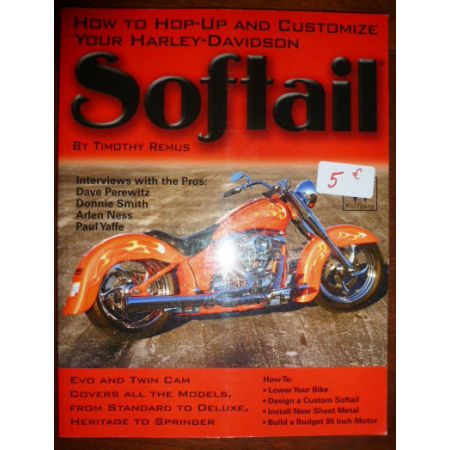 Harley-Davidson Softail - Livre Anglais