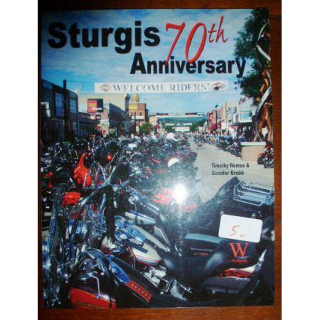 Sturgis 70th Anniversary - Livre Anglais