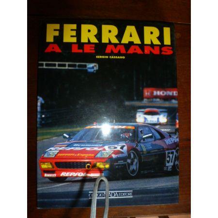 Ferrari a Le Mans - Livre Italien