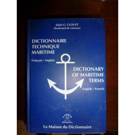 Dictionnaire maritime 2000 - Livre