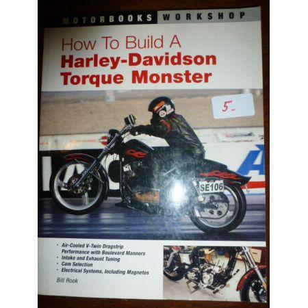 Harley-Davidson Torque Monster - Livre Anglais