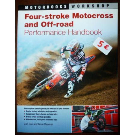 Four-Stroke Motocross and off-Road - Livre Anglais