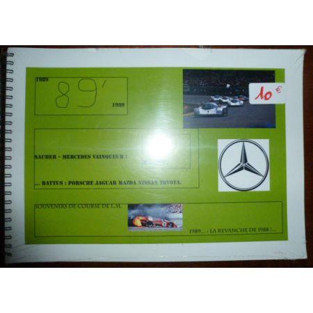 89 Mercedes Vainqueur - Livre